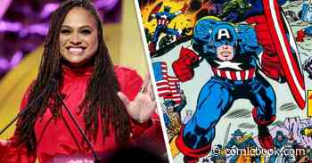 New Gods Director Ava DuVernay Celebrates Jack Kirby's Captain America for July 4th - ComicBook.com