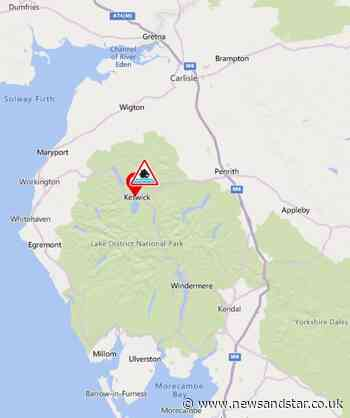 Flood warning remains in place at Keswick Campsite   News and Star - News & Star