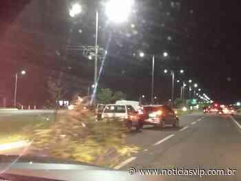 Prefeito Trad deixa buraco na Duque de Caxias causando acidentes e tumulto no trânsito - Notícias VIP