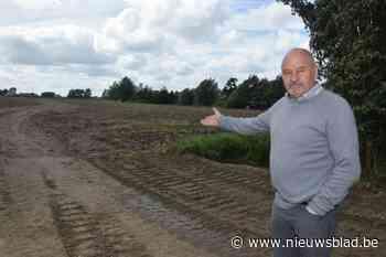 Aanleg gecontroleerd overstromingsgebied op de Kwakkelbeek m... (Lichtervelde) - Het Nieuwsblad