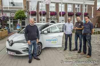 Lichtervelde koopt eerste elektrische wagen voor technische ... (Lichtervelde) - Het Nieuwsblad