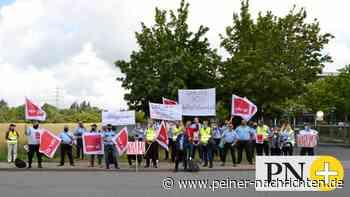 Demo in Peine wegen Entlassung der Atomlager-Bewacher - Peiner Nachrichten