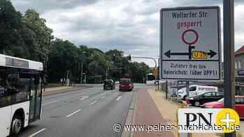 Die Woltorfer Straße in Peine ist fertig – und wieder frei - Peiner Nachrichten