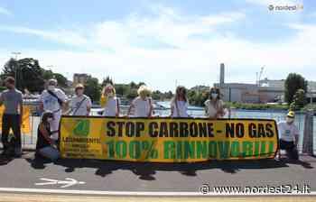 Ecoblitz di Legambiente alla centrale a carbone di Monfalcone - Nordest24.it