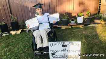 Regina Syrian refugee, paralyzed during war, wins $2,500 bursary - CBC.ca