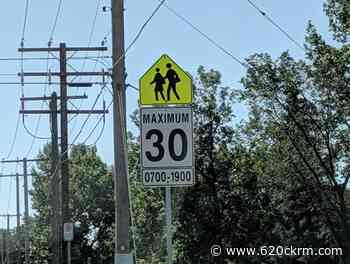 City of Regina debating what to do with six thousand school zone speeding tickets - 620 CKRM.com