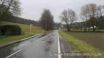 Kreisstraße 53 zwischen Bebra und Gilfershausen wird saniert - Hersfelder Zeitung