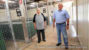 New kenneling enclosure at Taree Greyhound Club - Manning River Times