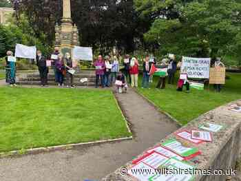 Bradford on Avon Friends of Palestine are urging the UK Government to introduce sanctions on Israel