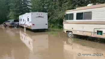 Whitecourt dealing with aftermath of high water levels - CBC.ca