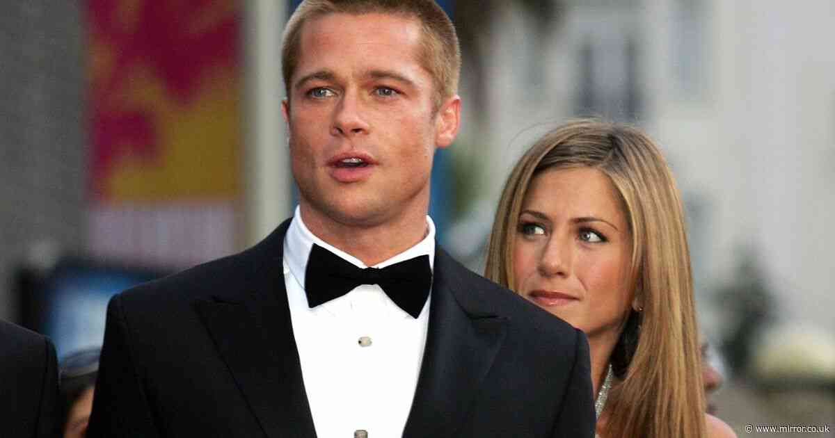 Jennifer Aniston mocked 'perfect marriage' with Brad Pitt saying 'it wasn't real' - Mirror Online
