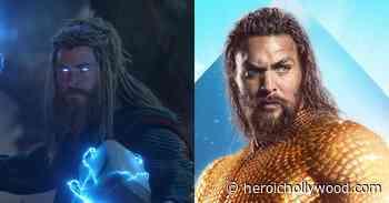 'Avengers' Star Chris Hemsworth Gears Up In Jason Momoa's 'Aquaman' Suit For Cool Fan Art - Heroic Hollywood