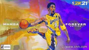 Kobe Bryant will be memorialized on the cover of NBA 2K21 - CNN