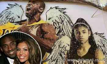 Vanessa Bryant shares new artwork of Kobe Bryant and Gigi Bryant - Daily Mail