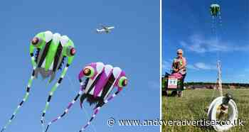 Kite flying champs return to the skies above Andover - Andover Advertiser