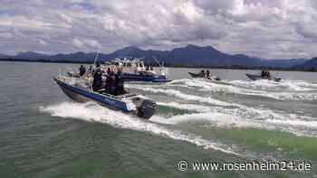 Ausbildung zum Polizeibootsführer am Chiemsee erfolgreich beendet