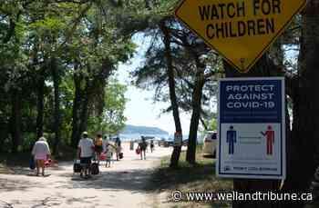 Beachgoers flock to Port Colborne's Nickel Beach - WellandTribune.ca