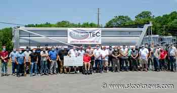 Saint Clair Trailer Manufacturing Company Donates $5000 to Jaden Leiby - Skook News