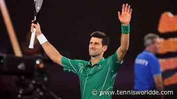 Ein WhatsApp-Gespräch zwischen Novak Djokovic und einem Fußballstar durchgesickert - Tennis World DE