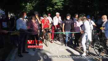 [Photogallery]. L'inaugurazione della Pista Ciclabile di Pinerolo - Vita Diocesana Pinerolese