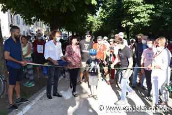 Pinerolo: inaugurata la pista ciclabile - L'Eco del Chisone