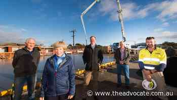 Wynyard Showground facility upgrade pours into action - The Advocate
