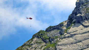 Ramsau: Frau bei Wanderung verletzt - Hubschraber-Rettung durch BRK - bgland24.de