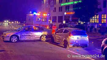 Berchtesgaden: Drei Verletzte nach Unfall an Bahnhof - Falsch auf B305 eingebogen - bgland24.de