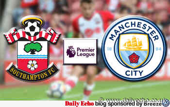 Live coverage of Southampton v Man City - Premier League | Daily Echo - Daily Echo