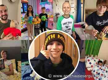 Monmouth schoolboy's fundraiser for Southampton cancer ward - South Wales Argus