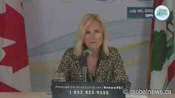 Coronavirus: Prince Edward Island reports 3 new cases, first since end of April | Watch News Videos Online - Globalnews.ca