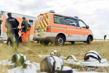 Erneut verletzter Kitesurfer in Gollendorf auf Fehmarn – wieder Hubschrauber alarmiert. - Dennis Angenendt
