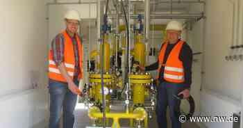 Wie das Erdgas in Steinheim verteilt wird - Neue Westfälische