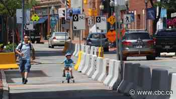 Mixed views as Moncton's Main Street goes one-way, adds bike lanes