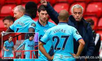 Jose Mourinho reveals showdown talks with Tottenham players after Sheffield United defeat