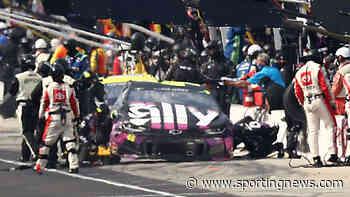 NASCAR at Indianapolis: Ryan Blaney crew member injured in pit road pileup - Sporting News