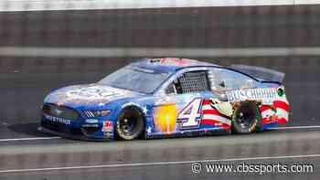 NASCAR Cup Series at Indianapolis results: Kevin Harvick wins at The Brickyard after Denny Hamlin crashes late - CBSSports.com