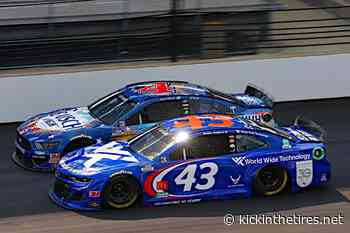 Bubba Wallace avoids the mayhem for Indianapolis top-10 - Kickin' the Tires