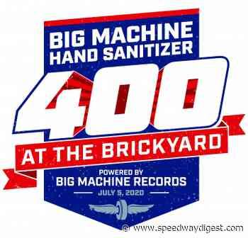 Big Machine 400 results from Indianapolis Motor Speedway - Speedway Digest