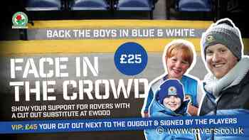 Get your face in the crowd against West Bromwich Albion!