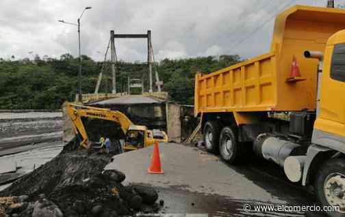 Los trabajos de reposición de la estructura de la vía Macas-Puyo avanzan - El Comercio (Ecuador)