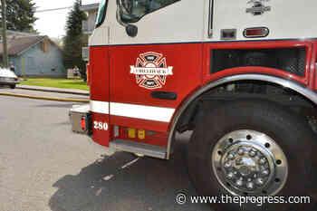 Chilliwack fire crews extinguish blaze in mobile office unit - Chilliwack Progress