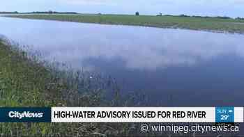 Province issues high-water advisory for Red River - CityNews Winnipeg
