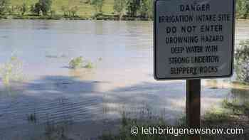 M.D. of Taber monitoring high river levels in park areas - Lethbridge News Now