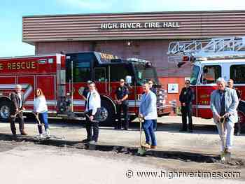 Renovations kick off for fire hall - High River Times