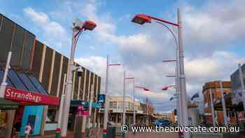 Makeover for mall's polarising green poles - The Advocate