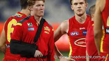 Suns anxious over Rowell AFL shoulder scan - The Advocate