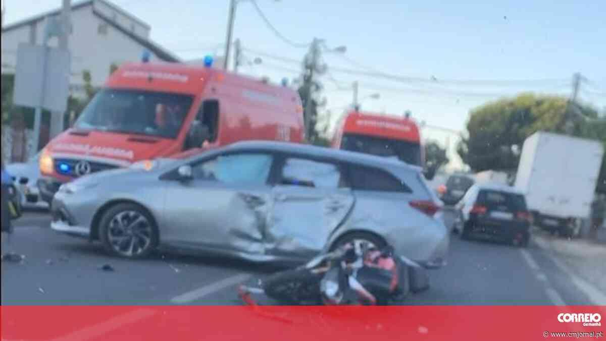 Choque com carro em Palmela fatal para empresário de 32 anos - Correio da Manhã