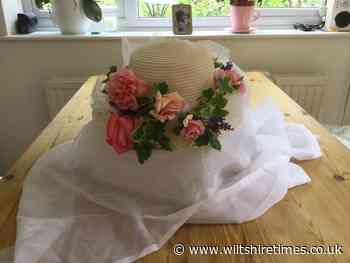 Chippenham Flower Club members create hats for Royal Ascot