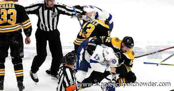 Rivalry Week: Are the Tampa Bay Lightning the Bruins' biggest rival right now?